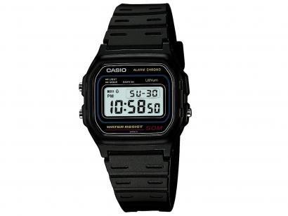 00e69d81b18 Relógio Masculino Casio W-59-1VQ - Digital Resistente à Água Cronômetro  Calendário