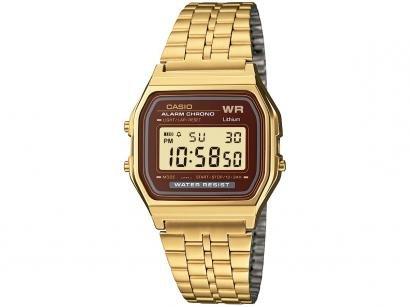 Relógio Unissex Casio Digital A159WGEA-5DF - Dourado