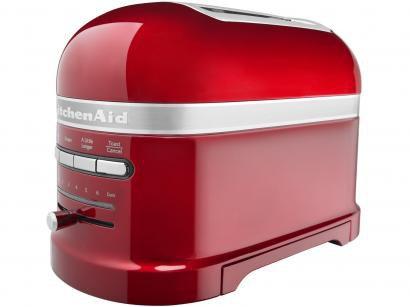 Torradeira KitchenAid Candy Apple KJC22A3ANA - 7 Níveis de Tostagem Função...