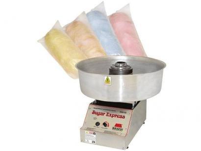 Máquina de Algodão Doce Industrial Braesi - ADB-02 Inox com Controle de...