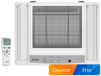 Ar-Condicionado de Janela Consul 10000 BTUs - Quente/Frio CCO10DB com Controle...