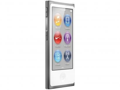iPod Nano Apple 16GB Tela 2,5 Multi Touch Rádio FM - Bluetooth Cinza Espacial