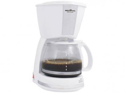 Cafeteira Elétrica Britânia CAF CB15 15 Xícaras - Branco