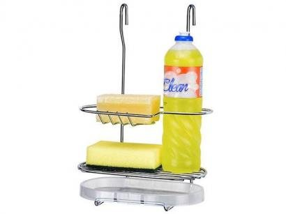 Porta Detergente e Bucha - Arthi Cook Home