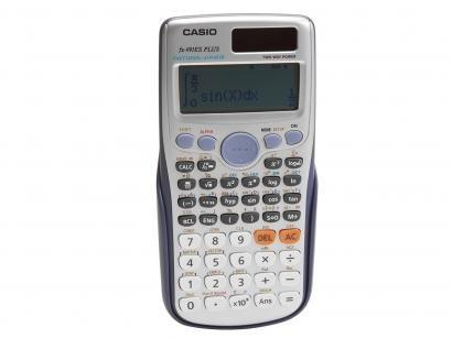 Calculadora Científica Casio 417 Funções - FX-991ES Plus Prata