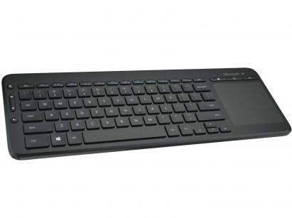 Teclado Multimídia Sem Fio - Microsoft All-in-One Media Keyboard