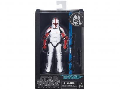 Boneco Star Wars Black Series Clone Captain - com Mecanismo Hasbro