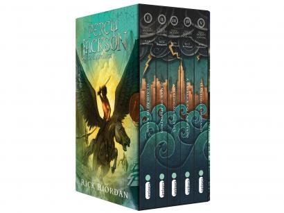 Box Livros Percy Jackson e os Olimpianos - Rick Riordan