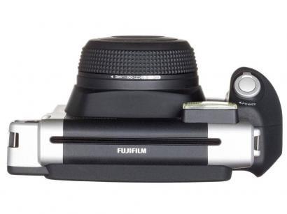 Câmera Instantânea Fujifilm Instax Wide 300 - Preto e Prata Flash Automático