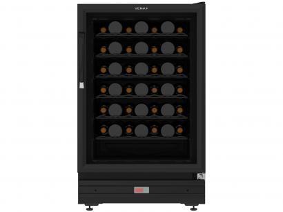 Adega Climatizada Venax 48 Garrafas com Compressor - Controle Digital de...