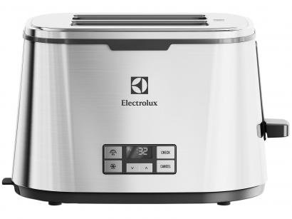 Torradeira Electrolux Inox Expressionist - Collection TOP50 Digital 7 Níveis de...