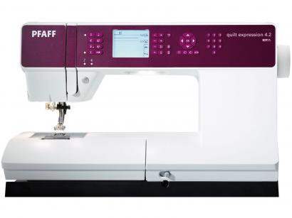 Máquina de Costura Singer PFAFF - Quilt Expression 4.2 - 254 Pontos