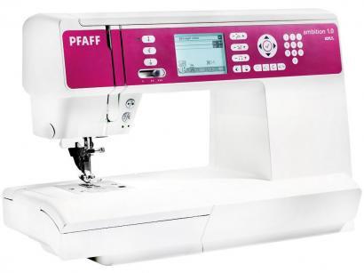Máquina de Costura Singer PFAFF Ambition 1.0 - 136 Pontos