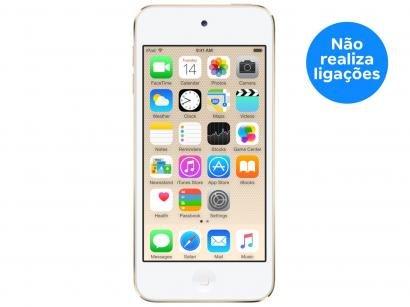 iPod Touch Apple 32GB 6ª Geração Dourado - Câm. 8MP MKHT2BZ/A