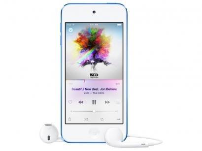 iPod Touch Apple 32GB 6ª Geração Azul - Câm. 8MP MKHV2BZ/A