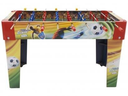 Mesa de Pebolim Soccer Team 2 Bolinhas - Xalingo