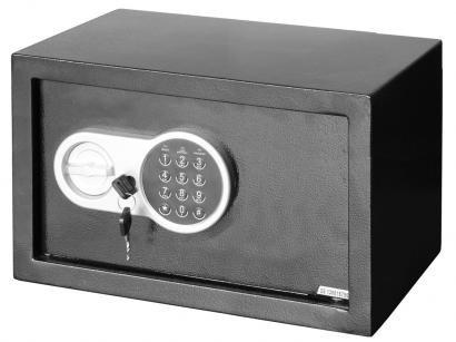 Cofre Eletrônico Médio em Aço com chave Safewell - Laptop Safe 23 ETW