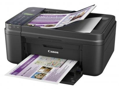 Impressora Multifuncional Canon Pixma E481 - Jato de Tinta Wi-Fi Colorida USB