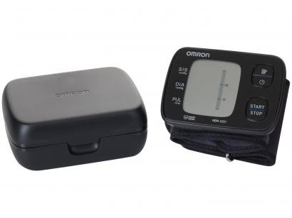Medidor de Pressão Arterial Digital Automático - de Pulso Omron HEM 6221