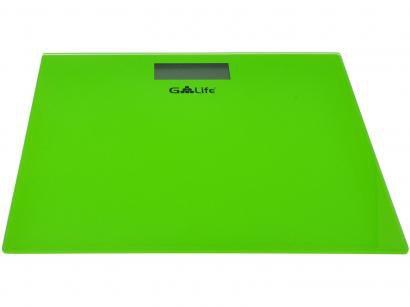 Balança Digital até 150kg Vidro Temperado G-life - Digital Colors