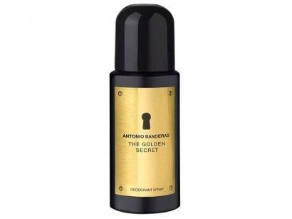 Desodorante Antonio Banderas The Golden Secret - Spray Masculino 150ml