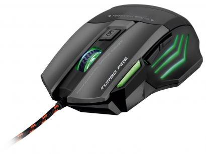 Mouse Óptico 3200dpi - Warrior