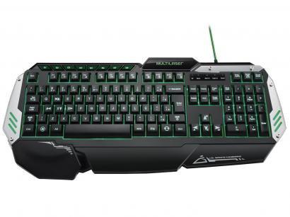 Teclado Profissional Gamer 12 Funções Multimídias - Multilaser TC189