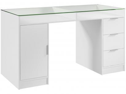 Escrivaninha/Mesa para Computador 1 Porta - 3 Gavetas - Madesa Home Office...