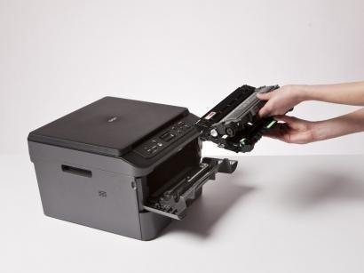 Impressora Multifuncional Brother DCPL2520DW - Laser Wi-Fi Preto e Branco USB