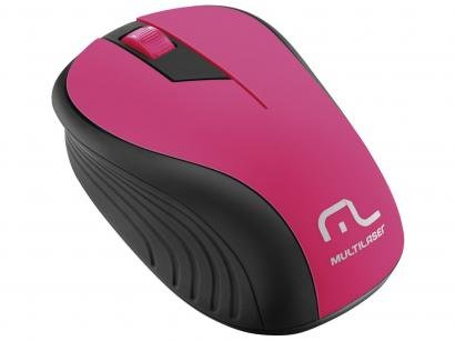 Mouse Óptico Sem Fio 1200dpi - Multilaser MO214