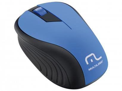 Mouse Óptico Sem Fio 1200dpi - Multilaser MO215