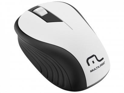 Mouse Óptico Sem Fio 1200 dpi - Multilaser MO216