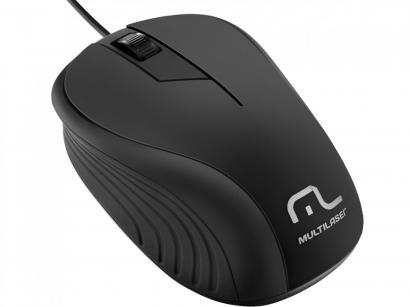 Mouse Óptico 1200dpi - Multilaser MO222