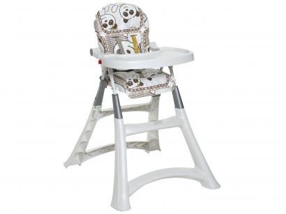 9cd31e2556 Cadeira de Refeição Alta Galzerano Premium Panda 5070PA - Branco ...