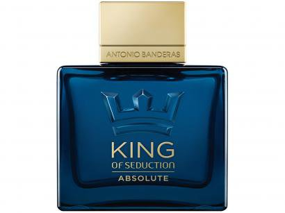 Perfume Antonio Banderas King of Seduction - Absolute Masculino Eau de Toilette 100ml