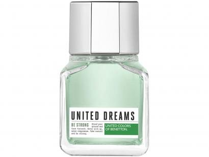 Perfume Benetton United Dreams Be Strong Masculino - Eau de Toilette 60ml