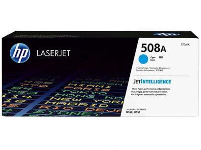 Cartucho de Tinta HP Ciano - Laserjet 508A