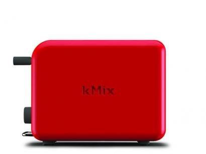 Torradeira Kenwood Vermelho kMix TTM020 - Função Descongelar
