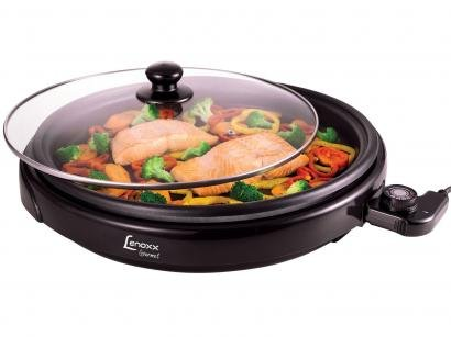 Grill Lenoxx Gourmet 1250W - Controle de Temperatura