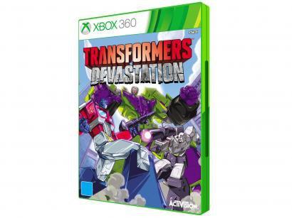 Transformers Devastation para Xbox 360 - Activision