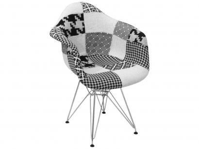 Cadeira Preto e Branco Eiffel - OR - 1120 MIX OR Design