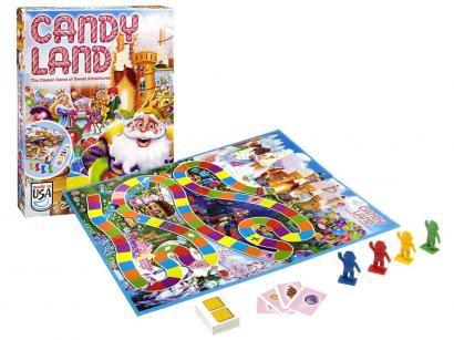 Jogo de Tabuleiro Candy Land - Hasbro