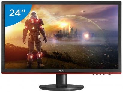 "Monitor Gamer AOC Sniper G2460VQ6 24"" LED - Widescreen Full HD HDMI VGA..."