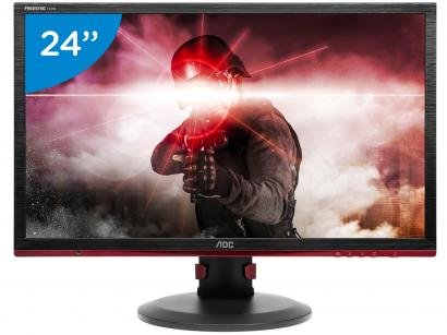 "Monitor Gamer AOC Hero G2460PF 24"" LED - Full HD HDMI VGA 83KHz 1ms"