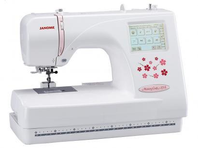 Máquina de Bordar Janome MC370E - Eletrônica Painel LCD