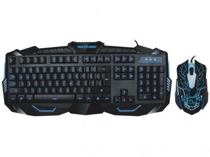 Kit Teclado e Mouse Gamer Lightning - Multilaser TC195