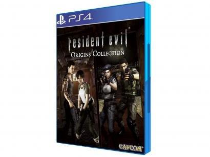 Resident Evil Origins Collection para PS4 - Capcom