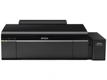 Impressora Epson EcoTank L805 Jato de Tinta - Colorida Wireless USB