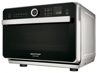 Forno com Micro-ondas Brastemp 31L com Grill - Gourmand BMR31 Timer com...