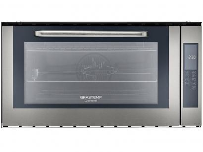 Forno de Embutir Elétrico Brastemp Gourmand - BOC90BRBNA Inox 105L Grill Timer